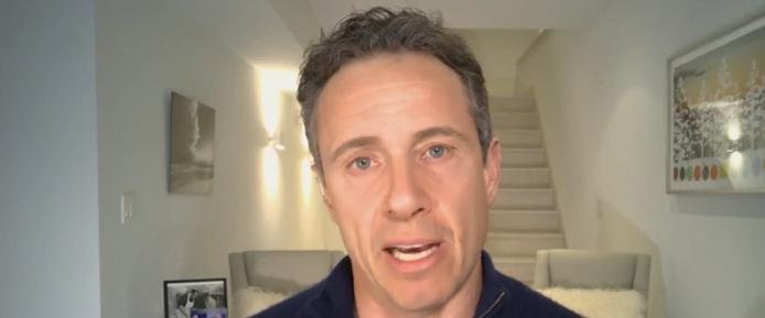 CNN's Cuomo, w/ Coronavirus, Completes Show from Basement