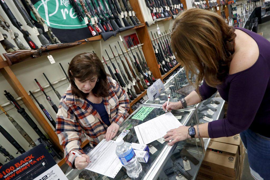 Gun Background Checks Smash Records Amid Virus Fears