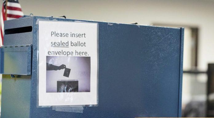 Ohio ballot box