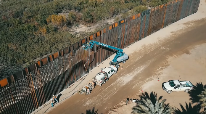 border wall yuma