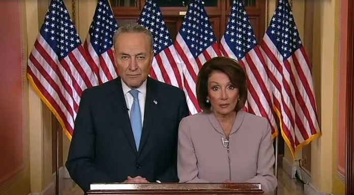 Chuck Schumer and Nancy Pelosi