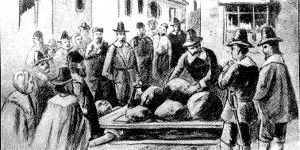 The death of Giles Corey