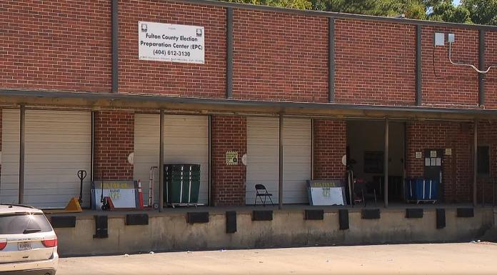 Georgia's Fulton County Election Preparation Center