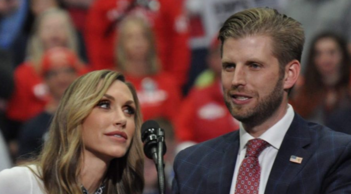 Lara and Eric Trump