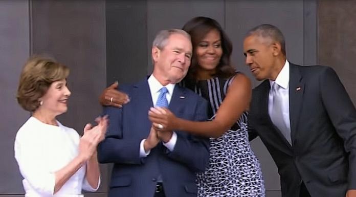 Bushes Obamas