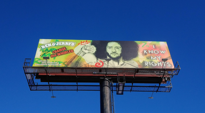 Colin Kaepernick billboard
