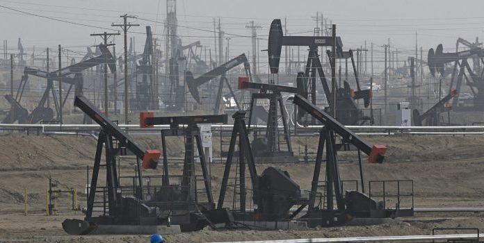 Kern River Oil Field in Bakersfield, Calif.