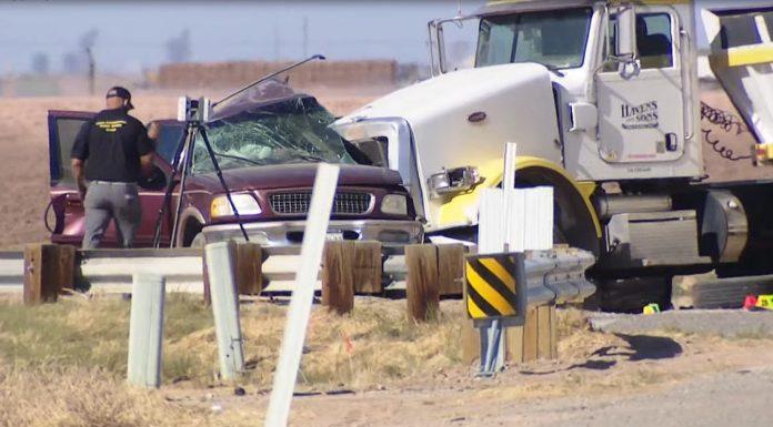 California border collision