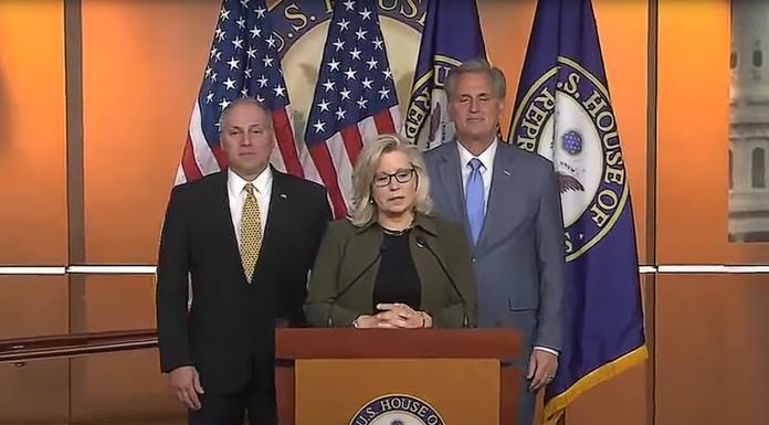 Steve Scalise, Liz Cheney and Kevin McCarthy