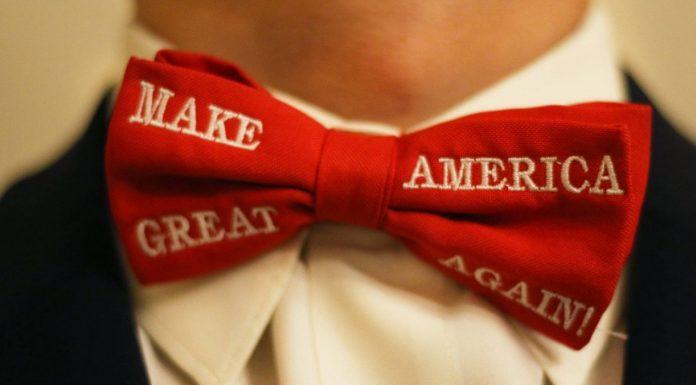 MAGA Bow Tie