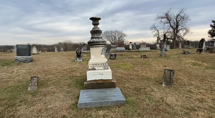 whitmer gravestone
