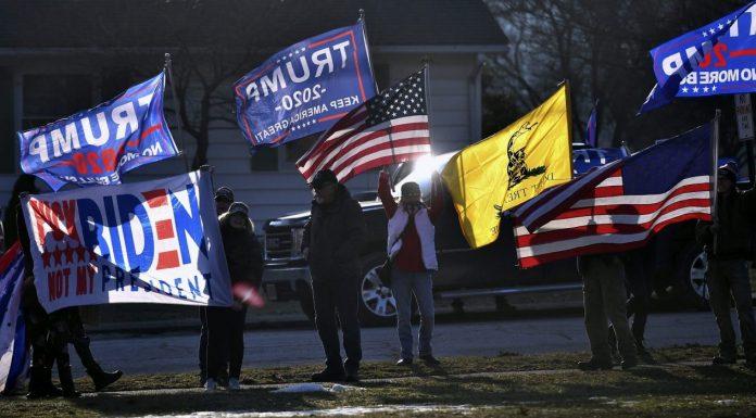 Trump supporters Pennsylvania