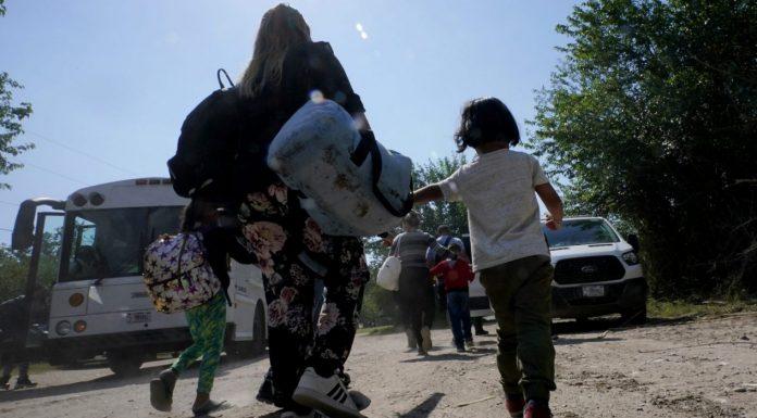 Venezuelan migrant family