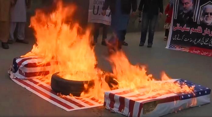 anti-American protest