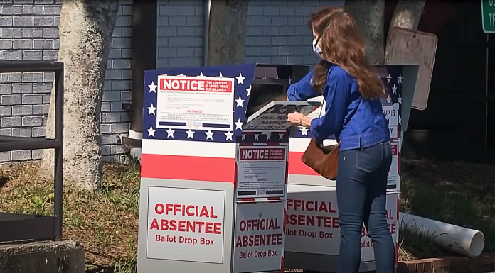 DeKalb County ballot drop-box