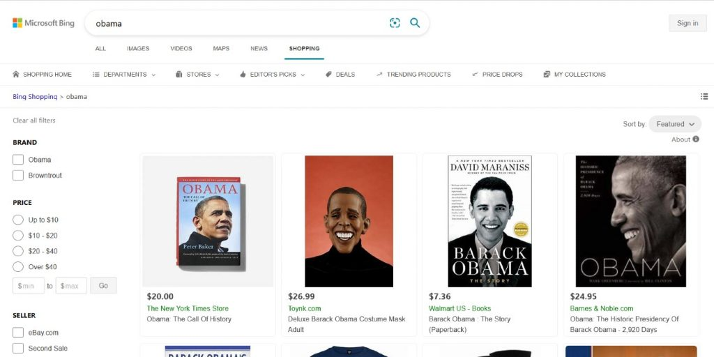 """Bing search results for """"Obamaa"""""""