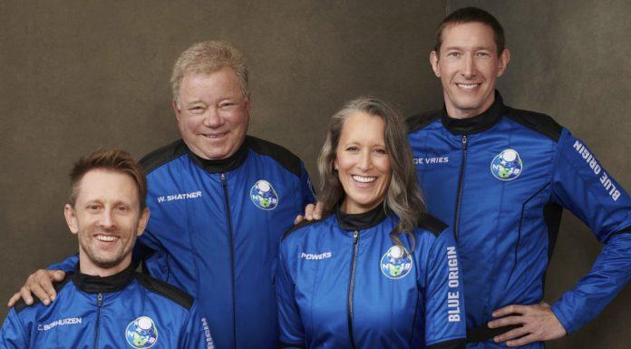 Blue Origin William Shatner